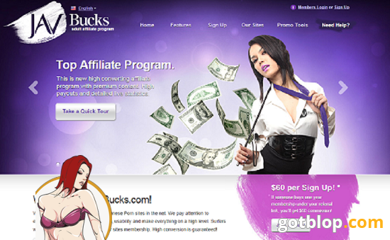 affiliate porn project Javbucks