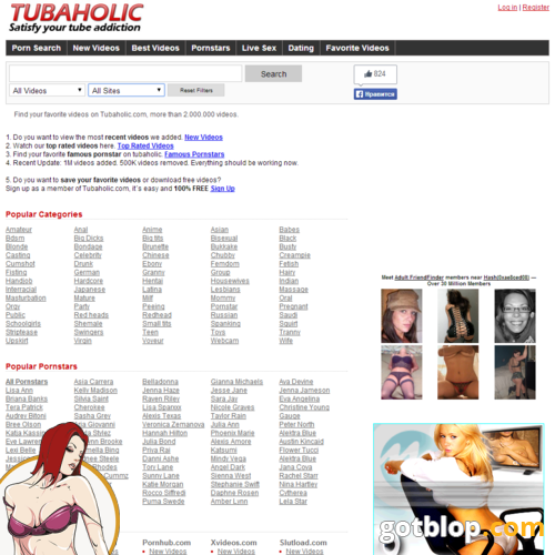 porn search engine TubAholic