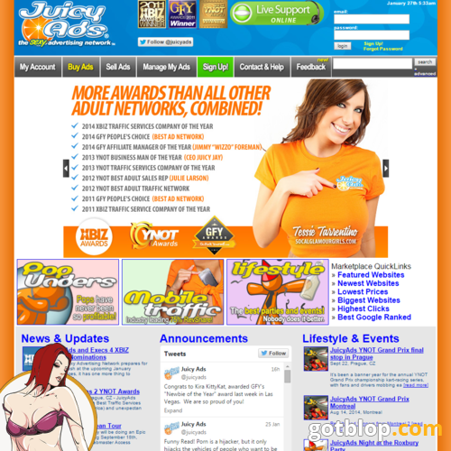 porn advertising program JuicyAds