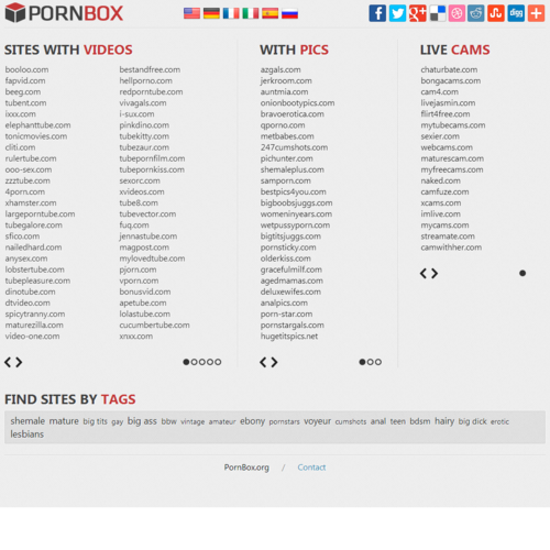 porn sites list PornBox