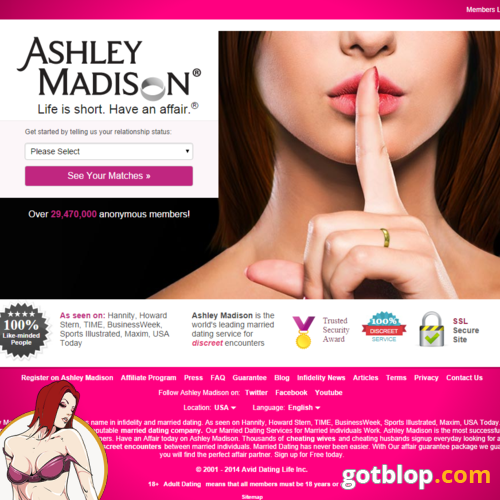 dating site AshleyMadison