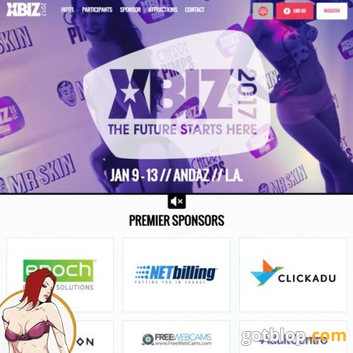 x biz adult industry show