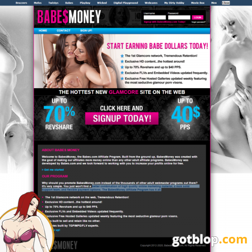 adult affiliate program BabesMoney