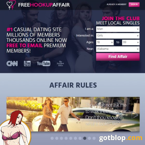 Affair dating site