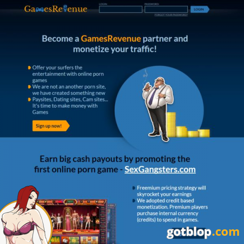 porn game affiliate program