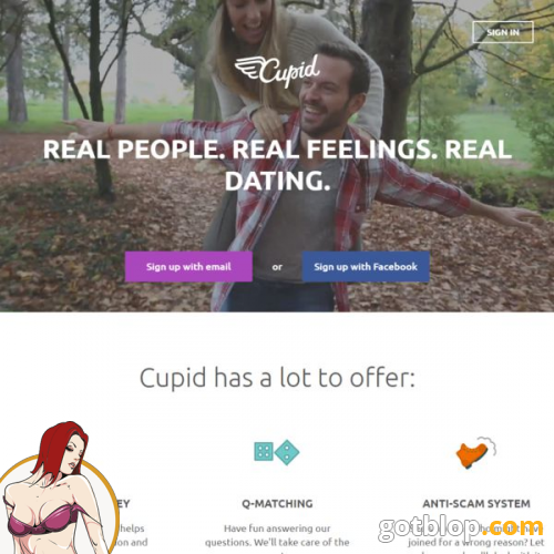What makes a good online dating site