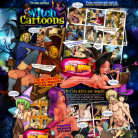 witch cartoon porn site